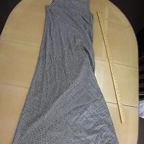 Black White Checked Long Modest Dress Size 4 by Sarah Campbell  a Line Work Euc Photo