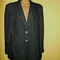 Black/white Escada Jacket/blazer - Size 40 Photo