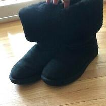 Black Womens Ugg Boots With Box Worn Once Size 7 Photo