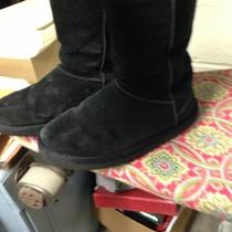 Black Womens Uggs Size 10 Photo