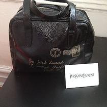 Black-Y-Mail-Bag-Trendy-Luxe-Yves-Saint-Laurent Photo