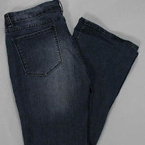 Blank Nyc Blue Medium Wash Five Pocket Wide Leg Jeans Pants Size 31 Photo