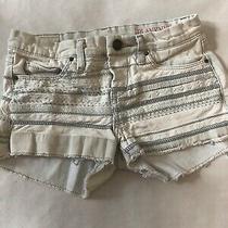 Blank Nyc Girls Jean Shorts Size 10 Light Denim Euc Photo