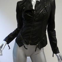 Blank Nyc Vegan Leather Jacket Black Size Medium Gently Worn Photo