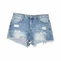 Blank Nyc Women Blue Denim Shorts 29w Photo