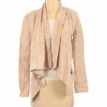 Blank Nyc Women Brown Faux Leather Jacket S Photo