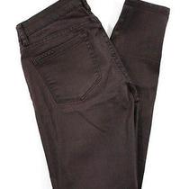 Blanknyc Burgundy Metallic Cotton Skinny Leg Leggings Jeans Sz 27 Photo