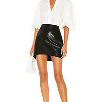 Blanknyc Sable Faux Leather Black Mini Skirt Size 24 New With Tags Photo