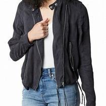 Blanknyc Women's Jacket Black Size Small S Lunch Placket Asymmetric 128 885 Photo