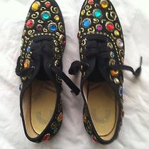 Bling Bejeweled Keds Shoes Retro Homemade Photo