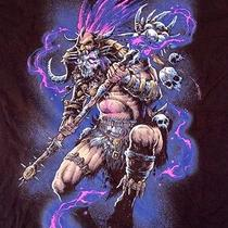Blizzard World of Warcraft Video Game Fantasy Mens Large T Shirt Photo