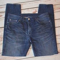 Blk Dnm Jeans Slim Fit Blue Jeans 36 X 31 Euc Photo