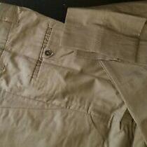 Blk Dnm Nyc Designer Dress Pants-Tan Brown Flat Front Men Sz Eur 44 (Us 30) Photo