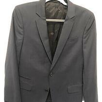 Blk Dnm Nyc Womens Blazer Jacket Size 46 Au 12 Us 8 Navy Wool New Nwt Photo