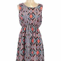 Bloom Women Blue Casual Dress L Photo