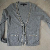 Bloomingdales 2 High End Cashmere  Quotation Sweaters Black Speckled and Grey Photo