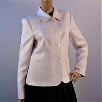 Bloomingdales Blush Beige Blazer Jacket Size 10 Photo