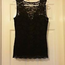 Blouse  Guess Los Angeles Black Colour  Size M 8 (Uk) Eur 42 New With Tags Photo