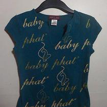 Blue Baby Phat v Neck Shirt Photo