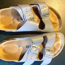 Blue Birkenstock Size 37 Photo