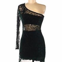 Blue Blush Women Black Cocktail Dress M Photo