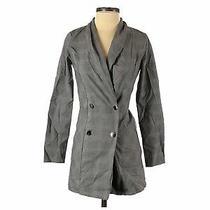 Blue Blush Women Gray Jacket S Photo