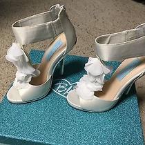 Blue by Betsey Johnson 'Bloom' Sandal Size 5.5  Photo