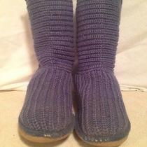 Blue Chrochet Uggs Size 1 Photo