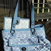 Blue Coach Handbag-B1273-F19043 Photo