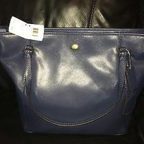 Blue Coach Purse Photo