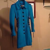 Blue Corset Burberry Coat Photo