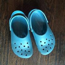 Blue Crocs Size 5  Photo