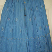 Blue Draw String Gap Kids Skirt in Size Xxl 4-16 Regular   Photo