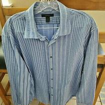 Blue Express Button Shirt Xl Photo