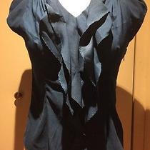 Blue Express Ruffle Shirt Photo