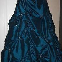 Blue Formal Dress Photo