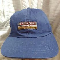 Blue Fossil Outdoor Gear Baseball Style Snapback Hat Cap Photo
