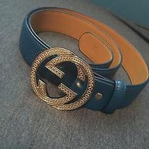 Blue Gucci Belt Photo