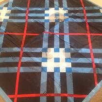 Blue Heart Burberry Scarf Photo