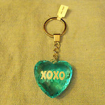 Blue Heart  Xoxo       Keychain Photo