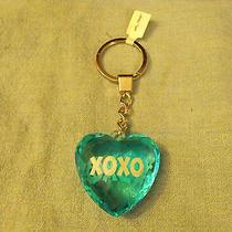 Blue Heart  Xoxo       Keychain Photo