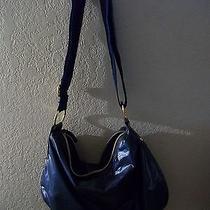 Blue Hobo Handbag Photo