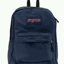 Blue Jansport Backpack Photo