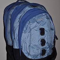 Blue Jansport Backpack Book Bag Lots of Pockets Photo