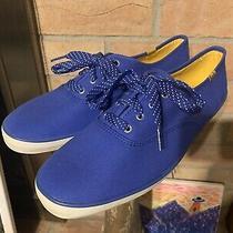 Blue Keds Sneakers/tennis Shoes- Never Worn - Sz 11 Womens - Cute Shoestrings Photo