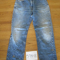 Blue Levi's 505 Grunge Jeans Tag 36x30 Measures 34x29.5 5734r Photo