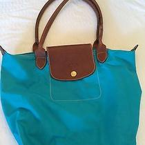 Blue Longchamp Purse Photo
