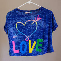 Blue - Love- Vintage Havana Girl Top/shirt - Size X-Large Photo