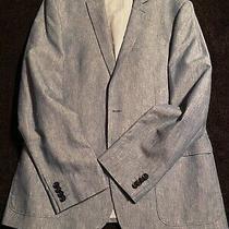 Blue Men's Express Blazer Jacket - Only Worn One Time (Size 40 Regular) Photo