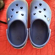 Blue Mickey Mouse Crocs- Size J2 Photo